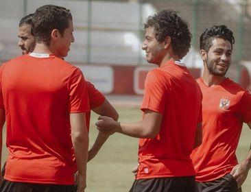 مدرب الأهلي الجديد يصعد 5 لاعبين للفريق الأول