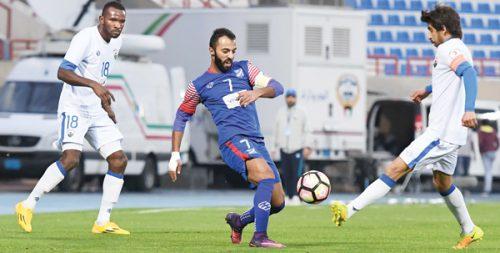 نتيجة مباراة الجهراء والتضامن في كأس ولي العهد الكويتي