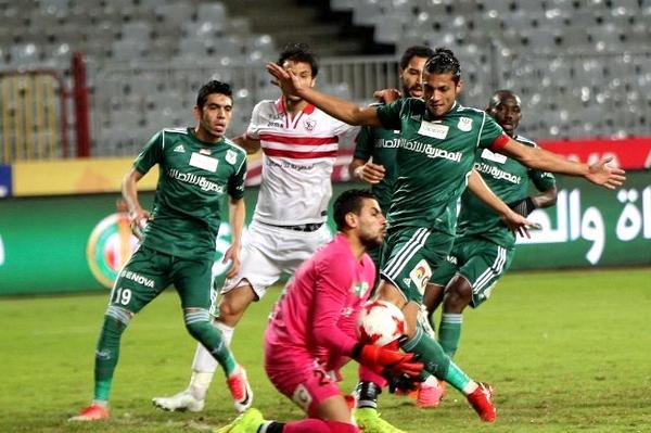 نتيجة مباراة الزمالك والمصري الدوري المصري