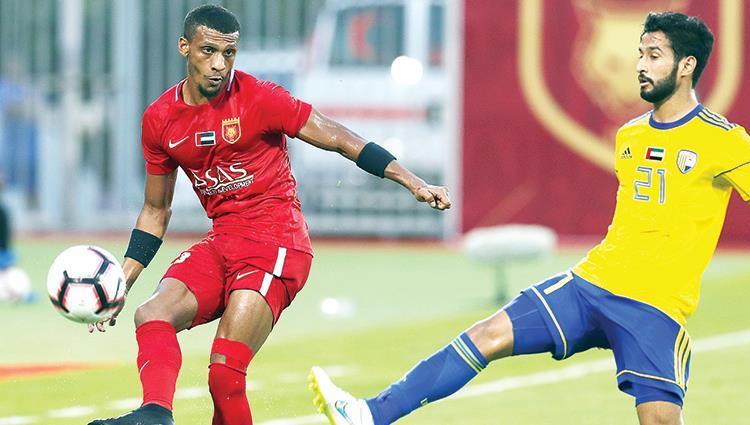 نتيجة مباراة الفجيرة والظفرة دوري الخليج العربي الاماراتي