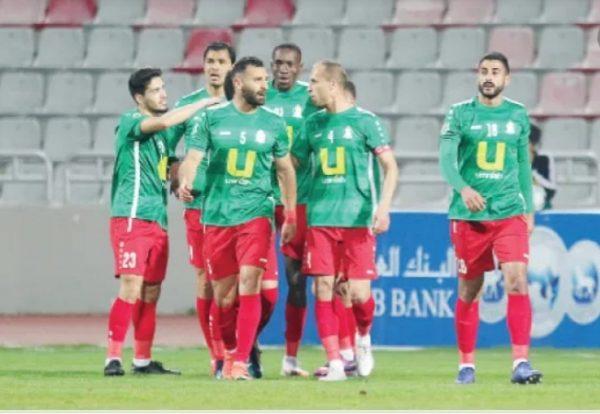 نتيجة مباراة الوحدات والصريح اليوم الأربعاء 21-10-2020 الدوري الأردني