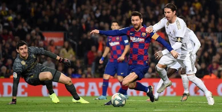 نتيجة مباراة برشلونة وريال مدريد اليوم السبت 24-10-2020 الدوري الإسباني