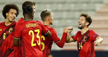 نتيجة مباراة بلجيكا وأيسلندا اليوم الأربعاء 14-10-2020دوري أمم أوروبا