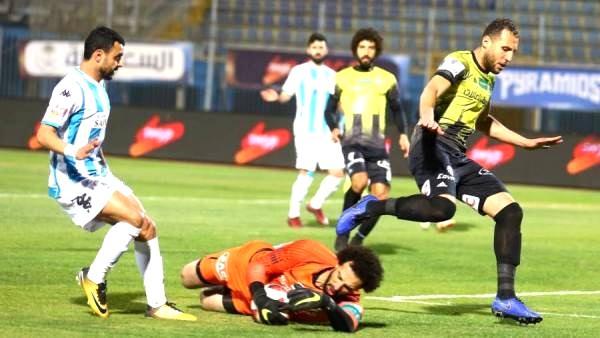 أهداف مباراة بيراميدز والمقاولون العرب اليوم في الدوري المصري