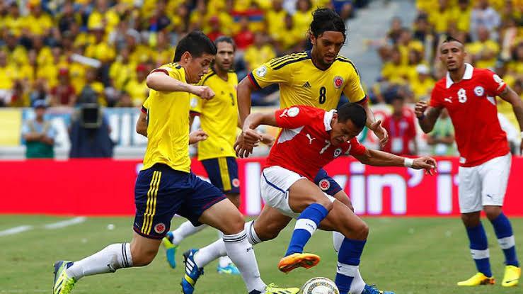نتيجة مباراة تشيلي وكولومبيا اليوم الاربعاء 14-10-2020 تصفيات أمريكا الجنوبية