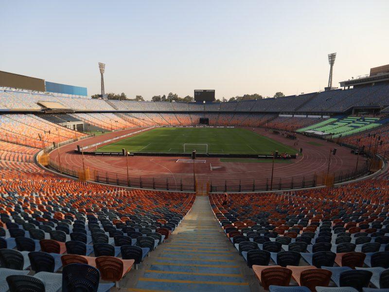 """قبل المباراة بساعات قليلة..""""كاف"""" يكشف استعدادات ستاد القاهرة لمواجهة الأهلي والوداد"""