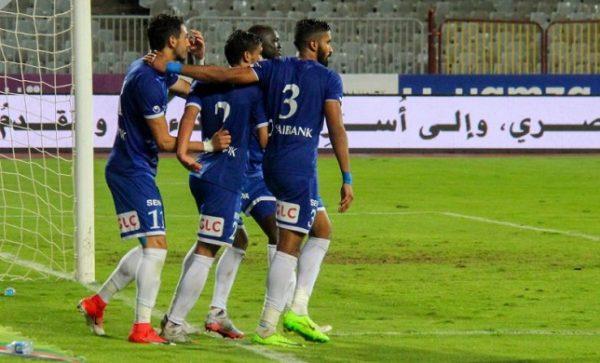 نتيجة مباراة سموحة ونادي مصر اليوم السبت 31-10-202 الدوري المصري
