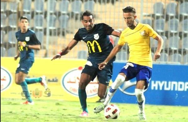 أهداف مباراة إنبي وطنطا في الدوري المصري الممتاز