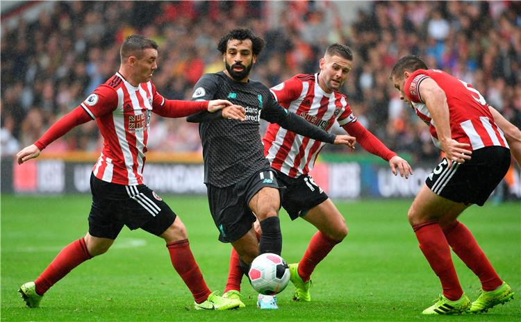 صلاح يقود هجوم ليفربول أمام شيفيلد بالدوري الإنجليزي