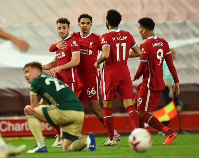 نتيجة مباراة ليفربول وليستر سيتي اليوم الاحد 22-11-2020  الدوري الإنجليزي