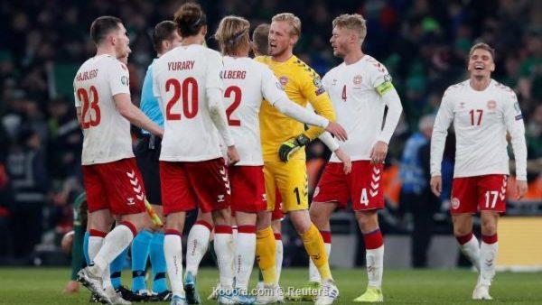 نتيجة مباراة إنجلترا والدنمارك اليوم الأربعاء 14-10-2020دوري أمم أوروبا