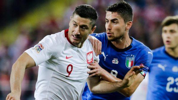 تشكيلة مباراة إيطاليا وبولندا مسابقة دوري أمم أوروبا