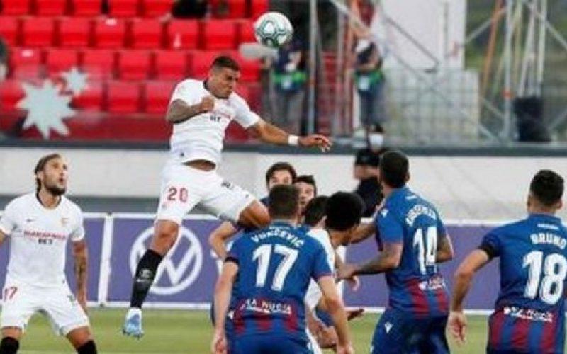 نتيجة مباراة اشبيلية وليفانتي اليوم الخميس 1-10-2020 الدوري الاسباني