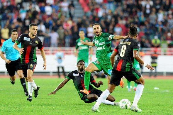 نتيجة مباراة الرجاء الرياضي والجيش الملكي اليوم الاحد 11-10-2020 الدوري المغربي