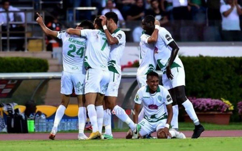 نتيجة مباراة الرجاء الرياضي وأولمبيك خريبكة اليوم الاربعاء 7-10-2020 الدوري المغربي