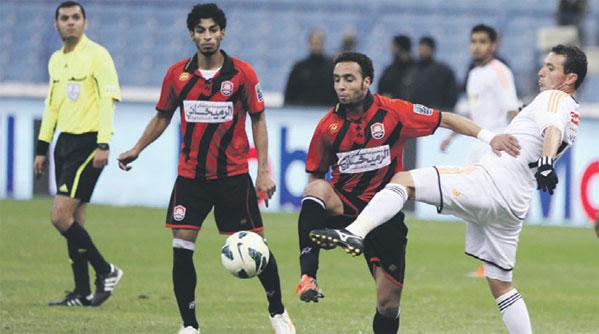 نتيجة مباراة الشباب والرائد الدوري السعودي للمحترفين