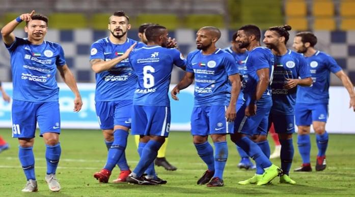نتيجة مباراة النصر وخورفكان اليوم الجمعة 23-10-2020 الدوري الاماراتي
