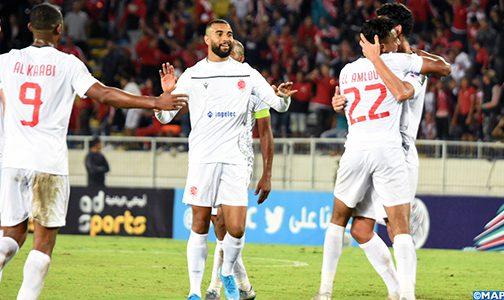 نتيجة مباراة الوداد الرياضي وسريع وادي زم اليوم الاربعاء 7-10-2020 الدوري المغربي