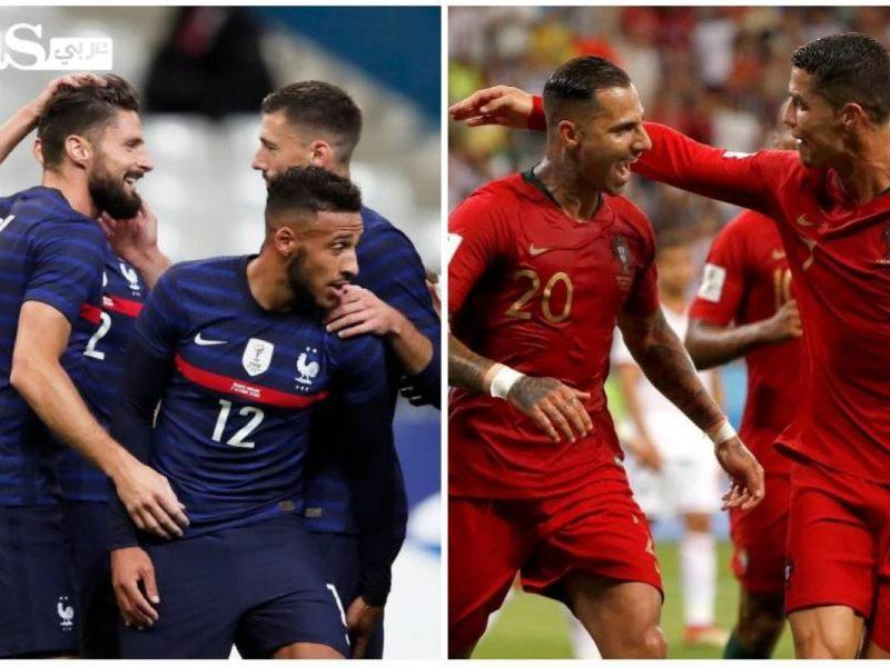 نتيجة مباراة فرنسا والبرتغال اليوم الاحد 11-10-2020 دوري الأمم الأوروبية