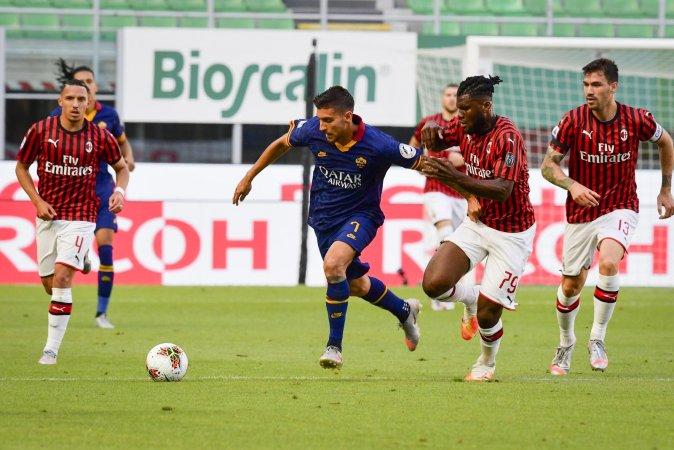 نتيجة مباراة ميلان وروما اليوم الاثنين 26-10-2020 الدوري الإيطالي