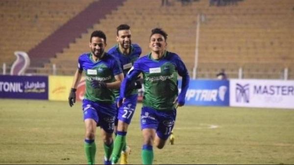 نتيجة مباراة مصر المقاصة والانتاج الحربي كأس مصر