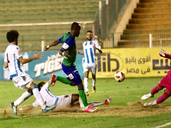 أهداف مباراة مصر المقاصة وبيراميدز اليوم 3-10-2020 في الدوري المصري