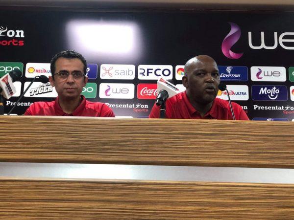 موسيماني يعلق على مباراة الأهلي وانبي ويشيد بمروان محسن