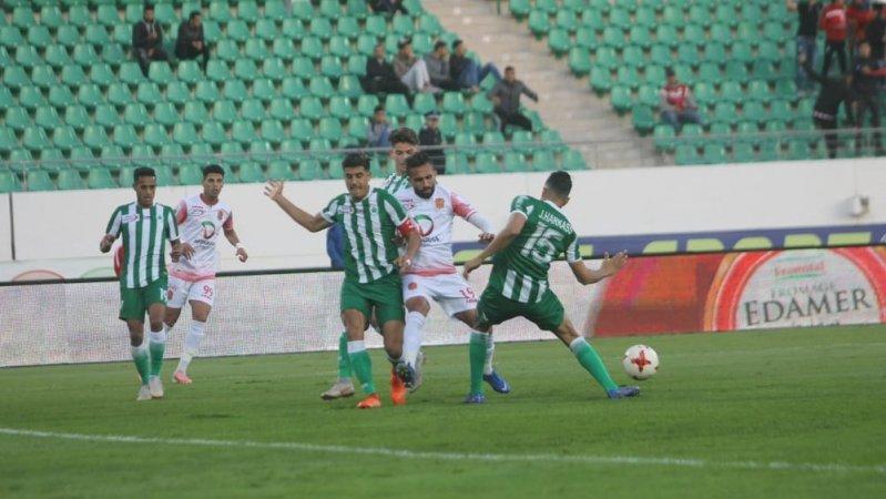 نتيجة مباراة مولودية وجدة وحسنية أكادير اليوم الأحد 11-10-2020الدوري المغربي