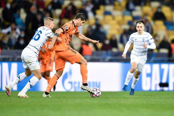 نتيجة مباراة يوفنتوس ودينامو كييف في دوري أبطال أوروبا