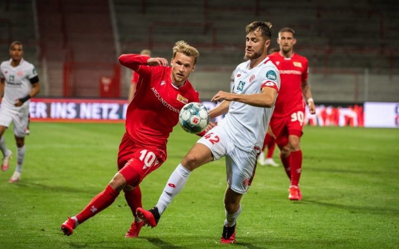 نتيجة مباراة يونيون برلين وماينز اليوم الجمعة 2-10-2020الدوري الألماني
