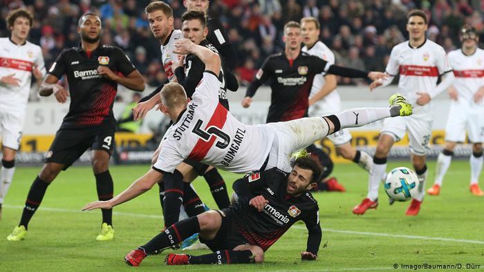 نتيجة مباراة باير ليفركوزن وشتوتجارت اليوم السبت 3-10-2020الدوري الألماني