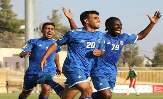 نتيجة مباراة الأهلي والسلط اليوم السبت 24-10-2020 الدوري الأردني
