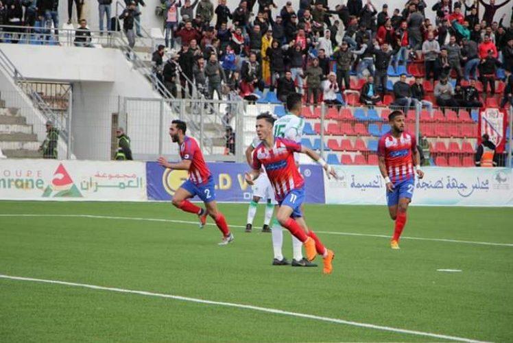 نتيجة مباراة مولودية وجدة والمغرب التطواني اليوم الأحد 4-10-2020الدوري المغربي