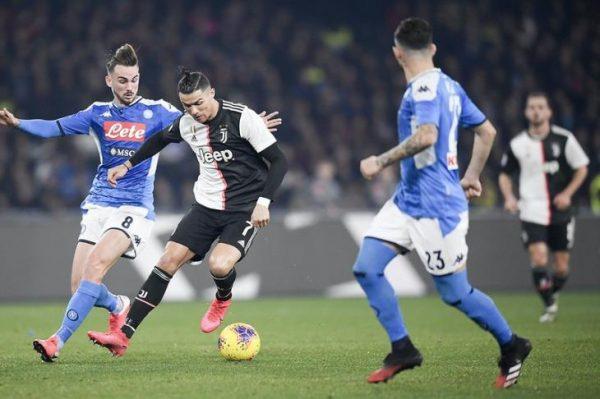 إلغاء مباراة يوفنتوس ونابولي اليوم الأحد 4-10-2020الدوري الإيطالي