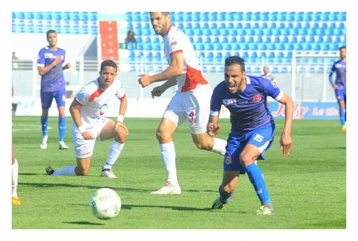 نتيجة مباراة حسنية أكادير واتحاد طنجة اليوم الأربعاء 7-10-2020الدوري المغربي