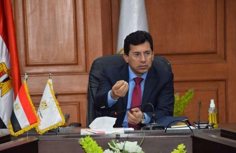 وزير الرياضة يعقب على بيان نادي الزمالك