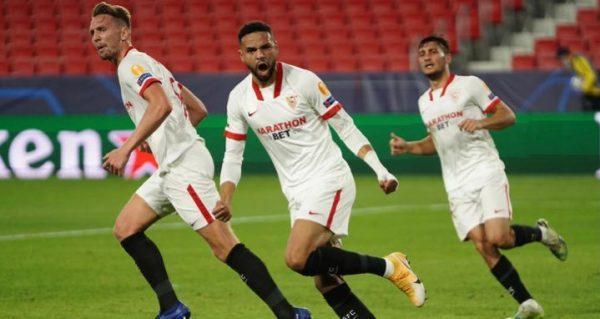 الحدادي يقود إشبيلية لفوز مثير على كراسنودار في دوري أبطال أوروبا