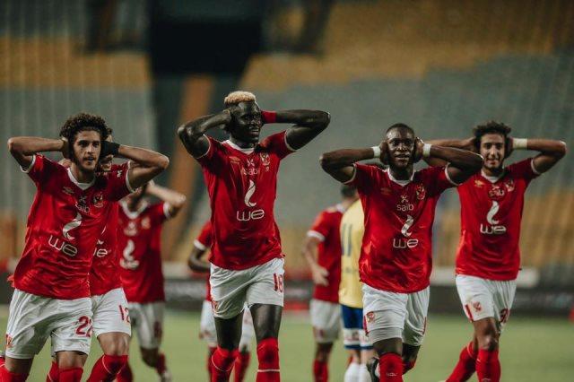 الأهلي يتأهل الى دور نصف النهائي على حساب أبو قير بكأس مصر