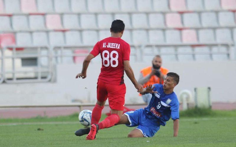 نتيجة مباراة الجزيرة وسحاب اليوم الجمعة 20-11-2020 الدوري الاردني