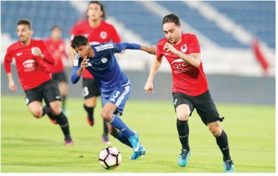 نتيجة مباراة الريان والخور اليوم الأثنين 16-11-2020 كأس Ooredoo القطري