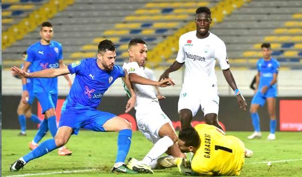 أهداف مباراة الزمالك والرجاء اليوم 4-11-2020 في دوري أبطال أفريقيا
