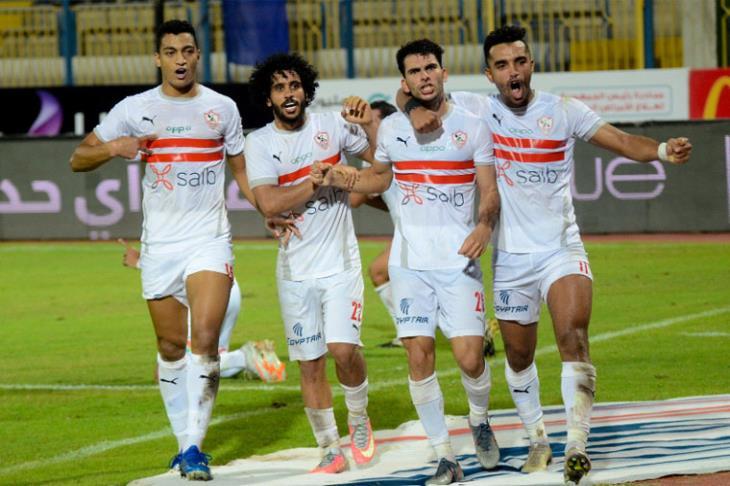 نتيجة الشوط الأول بين الزمالك والطلائع بكأس مصر
