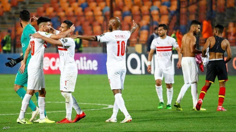 الزمالك يتأهل على حساب نادي مصر بالكأس