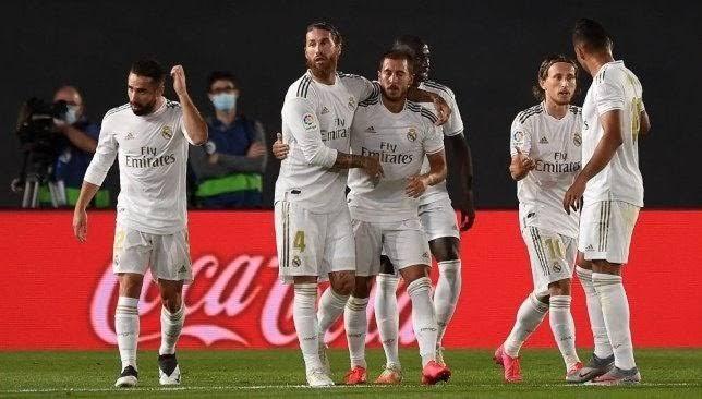 هازارد يقود هجوم ريال مدريد أمام انتر ميلان في دوري الأبطال