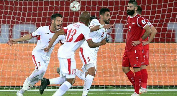 نتيجة مباراة الأردن وسوريا اليوم الاثنين 16-11-2020