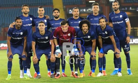 نتيجة الشوط الأول من مباراة إنبي وغزل المحلة في الدوري المصري