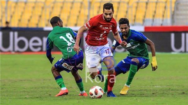 أهداف مباراة الأهلي ومصر المقاصة اليوم الدوري المصري الممتاز