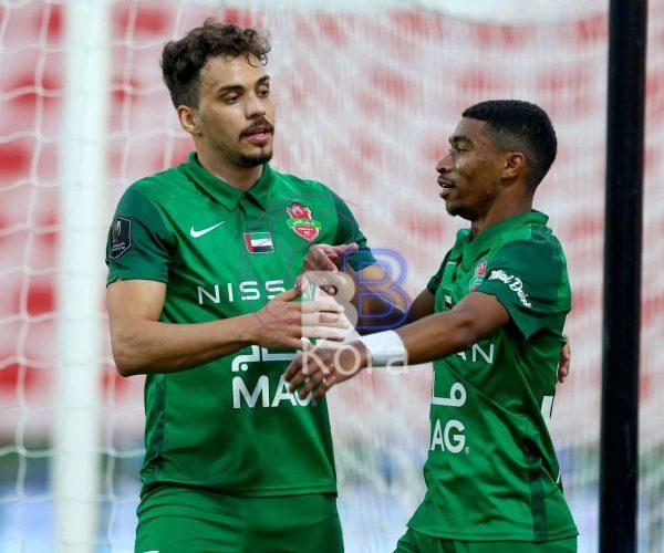 نتيجة مباراة شباب الأهلي والامارات في دوري الخليج العربي الإماراتي