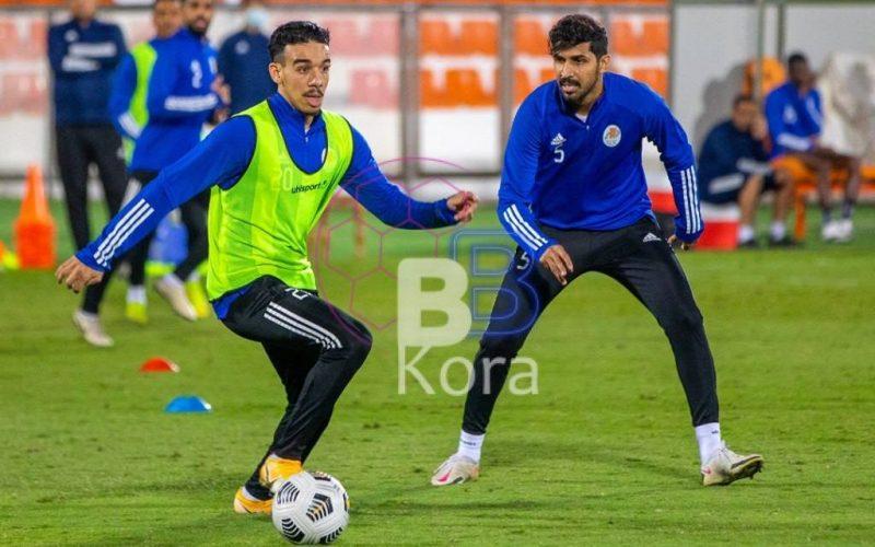 نتيجة الشوط الأول مباراة النصر وعجمان في دوري الخليج العربي الإماراتي