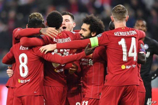 نتيجة مباراة ليفربول وميتييلاند اليوم 9-12-2020 دوري أبطال أوروبا